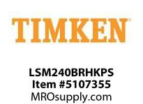 TIMKEN LSM240BRHKPS Split CRB Housed Unit Assembly