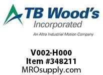 TBWOODS V002-H000 CODE 00 HANDWHEEL ONLY HSV 12