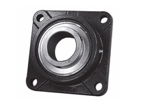 PTI UCFX14-43 4-BOLT FLANGE BEARING-2-11/16 UCFX SILVER SERIES - MEDIUM DUTY -