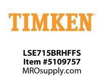TIMKEN LSE715BRHFFS Split CRB Housed Unit Assembly