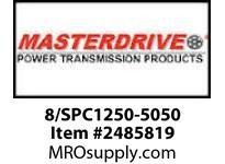 MasterDrive 8/SPC1250-5050 8 GROOVE SPC SHEAVE
