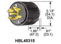 HBL-WDK HBL45215 LKG PLUG VARILOAD 4P5W 30A 600V