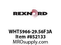 REXNORD WHT5966-29.56F3A WHT5966-29.56 F3 T6P N1.1 WHT5966 29.563 INCH WIDE MATTOP CHA