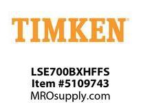 TIMKEN LSE700BXHFFS Split CRB Housed Unit Assembly