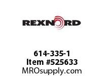 REXNORD 614-335-1 KUS1500-32T 19MM RSB NYL 141213