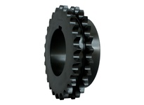 D80Q17H Double Roller Chain Sprocket bushed for MST (Q1)
