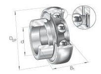 INA GRAE60NPPB Radial insert ball bearing