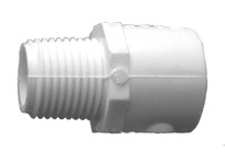 MRO 55750 1/2 PVC SLIP X MIP ADAPTER (Package of 20)