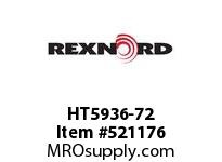 REXNORD HT5936-72 HT5936-72 126387