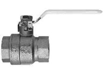 MRO 940174L 3/4 LOCK HDL BRASS BALL VALVE