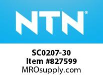 NTN SC0207-30 Bearing Units - Cast Covers