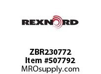ZBR230772 FLANGE CARTRIDGE BLK W/ND 125773