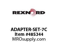 REXNORD 6103573 ADAPTER-SET-7C ADAPTER FOR DRIVEMASTER1