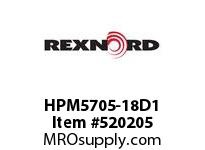REXNORD HPM5705-18D1 HPM5705-18 D90 T1P 151124