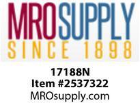 MRO 17188N 3/8 X 1/4 COMPXMIP WHT NYLN ADPT