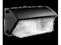 RAB WP3H250PSQ WALLPACK 250W MH PSQT HPF GLASS LENS PULSE START+LAMP BZ