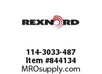 REXNORD 114-3033-487 ATCH WHT4700 F1 N1.75 BT