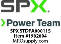 SPX STDFA000115 PLUG