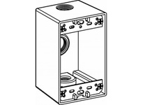 Orbit 1DB50-3 1-G W/P BOX 3 1/2^ HUBS 2-5/8^ DEEP