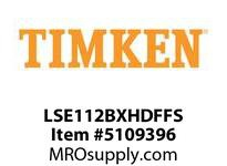 TIMKEN LSE112BXHDFFS Split CRB Housed Unit Assembly