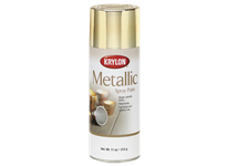 KRY K01401 Metallic Paint Bright Silver Krylon 16oz. (6)