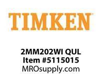 TIMKEN 2MM202WI QUL Ball P4S Super Precision