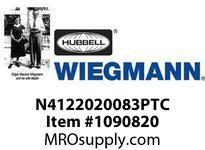 WIEGMANN N4122020083PTC N412SD20X20X8ULTIMATE 1PT. HANDLE