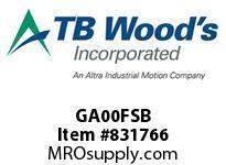 TBWOODS GA00FSB SLV GA00 B