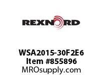 REXNORD WSA2015-30F2E6 WSA2015-30 F2 T6P N1.33 WSA2015 30 INCH WIDE MATTOP CHAIN W