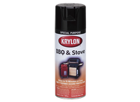 KRY K01614 High Heat Paint High Heat Black Krylon 16oz. (6)