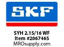 SKF-Bearing SYH 2.15/16 WF