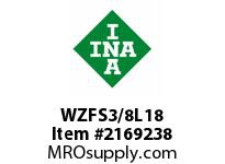 INA WZFS3/8L18 Linear fast shaft precision