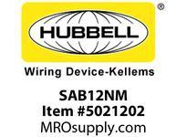 HBL_WDK SAB12NM PS L/T NM ADAPT1/2^ HUB16/20A3/5W
