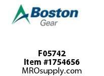 Boston Gear F05742 N010-1026-I 1026-I TYPE A NLS SHOE