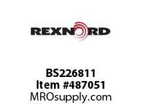 BS226811 FLANG BLK 2.50 MOD A381 127206