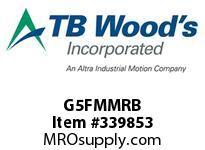 TBWOODS G5FMMRB 5FMMX2 1/4 RB GEAR HUB