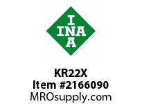 INA KR22X Stud type track roller