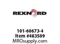REXNORD 6418636 101-60673-4 6DRP REV MTG BLT+3 PT-C