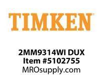 TIMKEN 2MM9314WI DUX Ball P4S Super Precision