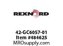 REXNORD 6472434 42-GC6057-01 IDL*P/A 4.5DRP SPRL R/G