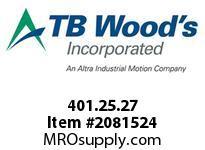 TBWOODS 401.25.27 VARITORK CLUTCH 25 5/16 --