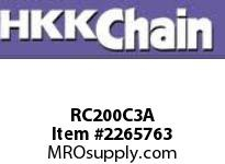 "HKK 200-3C triple chain 2-1/2"" pitch cotter"