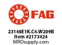 FAG 23148E1K.C4.W209B DOUBLE ROW SPHERICAL ROLLER BEARING