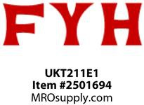 FYH UKT211E1 UKT211E GROOVED FOR COVER