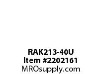 PTI RAK213-40U PILLOW BLOCK BEARING-2-1/2 RAK 200 SILVER SERIES - NORMAL DUTY