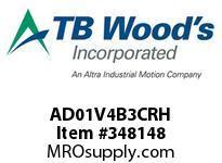 TBWOODS AD01V4B3CRH AD-2 1HP 460V CHAS RDP HF