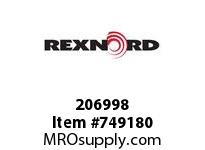 REXNORD 206998 588932 263.DBZ.CPLG STR TD