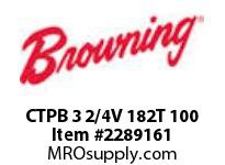 Browning CTPB 3 2/4V 182T 100 MOTOR MODULES