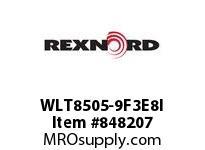 REXNORD WLT8505-9F3E8I WLT8505-9 F3 T8P N.375 WLT8505 9 INCH WIDE MATTOP CHAIN WI