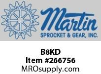 "Martin Sprocket B8KD 3/8"" DR 6PT DEEP SKT SET"